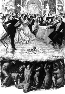 """""""From the Depths"""" by William Balfour Ker (1906)"""