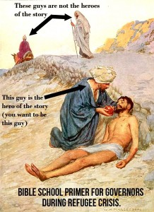 """Parable of the Good Samaritan"" for dummies"