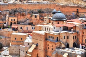 Monastery at Mar Saba
