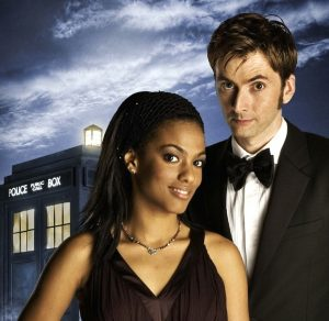 Martha Jones, Doctor Who, and the blue TARDIS