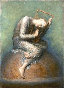 """Hope"" by George Frederic Watts, 1886"