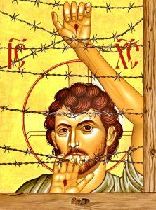 """""""Christ of Maryknoll"""" by Br. Robert Lentz"""