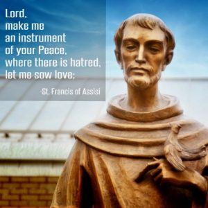 """The beautiful words known as """"The Prayer of St. Francis"""" were mistakenly attributed to the man of Assisi."""