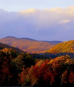Berkshire mountains in autumn