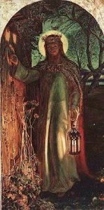 """The Light of the World"" by William Holman-Hunt"