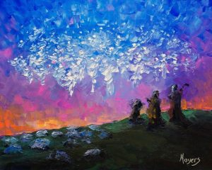 """Host of Angels"" by Mike Moyers"