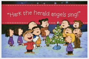 "YOUTUBE: ""A Charlie Brown Christmas — Hark! The Herald Angels Sing"""