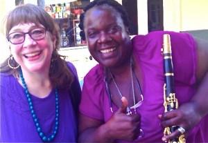 Pam McAllister and Doreen Ketchens