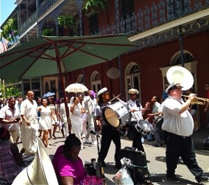 New Orleans Jazz Wedding