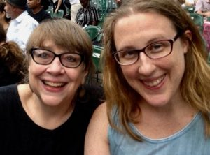 Pam & Deanna, summer 2017
