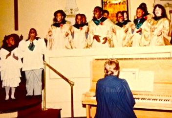 The Church of Gethsemane Choir @ 1990.