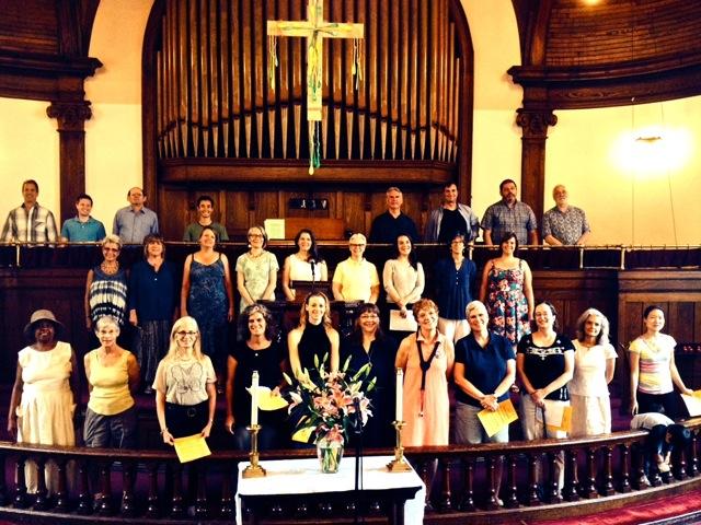 PSUMC Choir, 2014