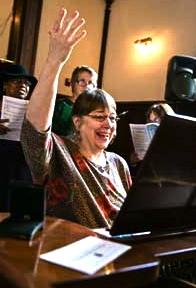 choir rehearsal at PSUMC